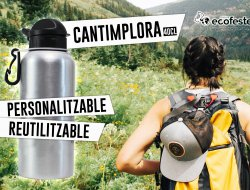 NEW!! Cantimplora personalizable y reutilizable